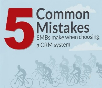 חמש טעויות נפוצות בבחירת CRM לעסק הקטן והבינוני